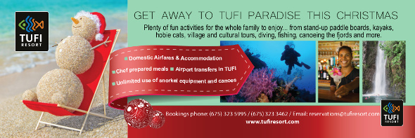 Tufi Resort Promo